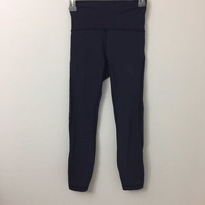 LULULEMON Size 4 Dark long  Leggings